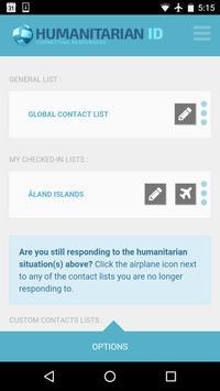 Humanitarian ID poster