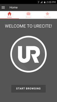 uRecite apk screenshot