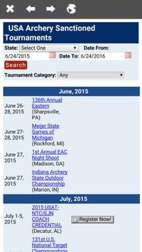 USA Archery Mobile Coach apk screenshot