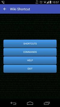 Wiki shortcut poster