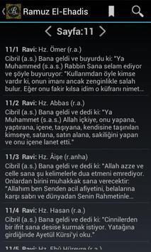 Ramuz El-Ehadis apk screenshot