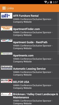 2015 VAMA Conference apk screenshot