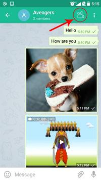 Voicegram- Telegram With Voice apk screenshot