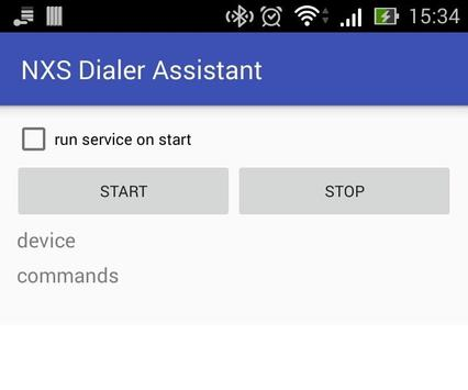 NXS Dialer Assistant poster