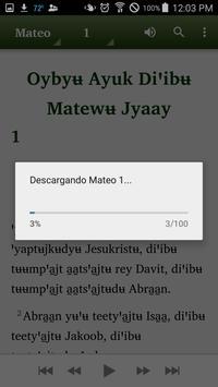 Mixe Juquila - Bible apk screenshot