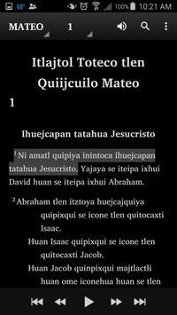 Náhuatl Eastern Huasteca Bible apk screenshot