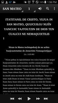 Náhuatl Highland Puebla Bible apk screenshot