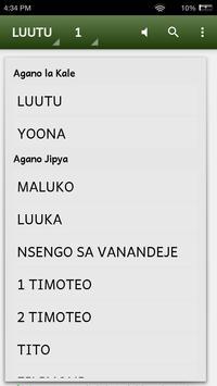Biblia katika Kisangu apk screenshot