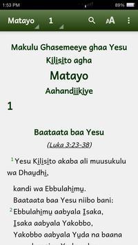 Lubwisi Bible apk screenshot