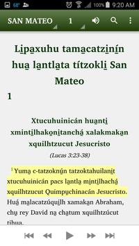 Totonac Highland - Bible apk screenshot