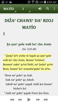 Zapoteco Yatee Bible apk screenshot