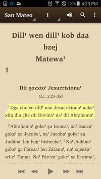 Zapotec Yaganiza - Bible apk screenshot