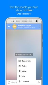 Snap Messenger poster