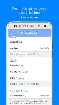 Snap Messenger apk screenshot