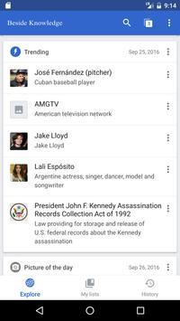 Beside Knowledge apk screenshot