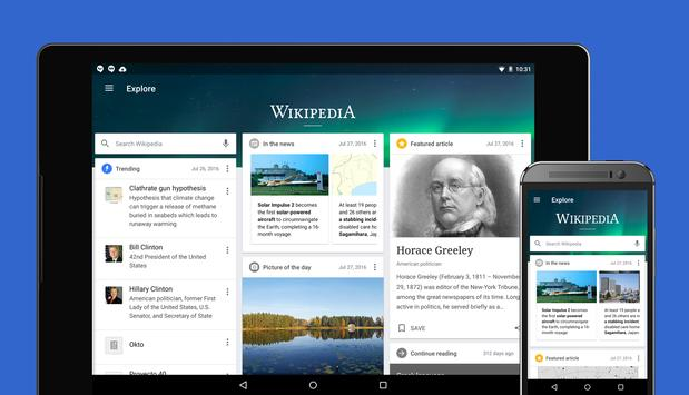 Wikipedia Beta apk screenshot