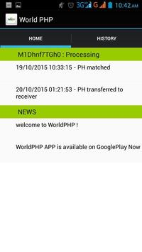 World PHP Mobile App apk screenshot