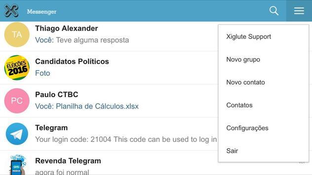 Xiglute Messenger apk screenshot