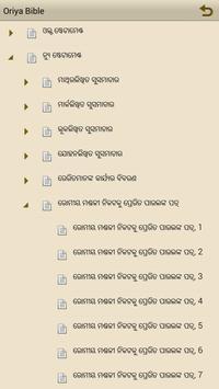 Oriya Bible apk screenshot