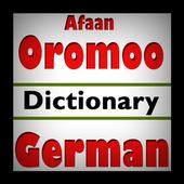 Afaan Oromoo German Dictionary icon