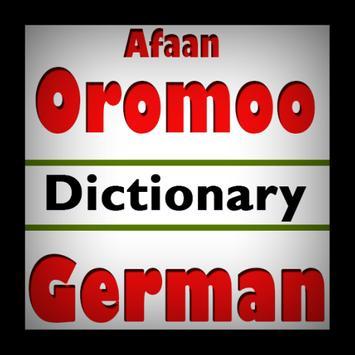 Afaan Oromoo German Dictionary poster