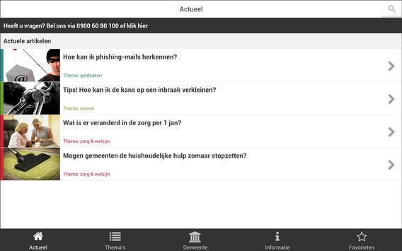 Ouderen Ombudsman apk screenshot
