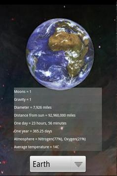 Solar System - The Planets Old apk screenshot