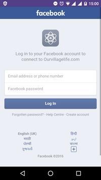 OurVillageLife apk screenshot