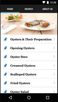 Oysters Recipe poster