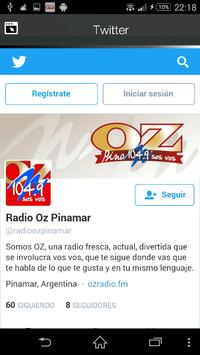 OZ Radio Pinamar apk screenshot
