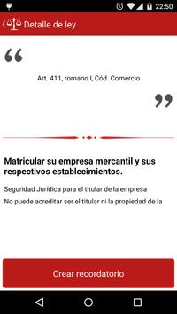 Obligaciones Profesionales SV apk screenshot