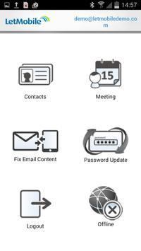 LetMobile Secure Mobile Email apk screenshot