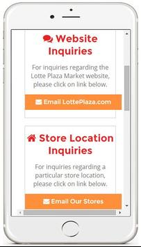 Lotte Plaza Market apk screenshot