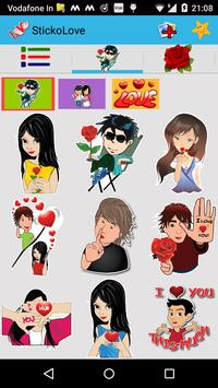 Love  Stickers - Chat Stickers poster