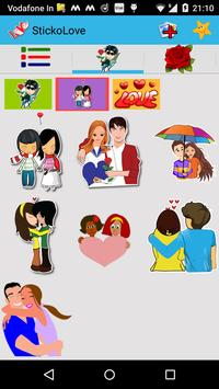 Love  Stickers - Chat Stickers apk screenshot
