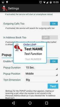 ChiSei LDAP apk screenshot
