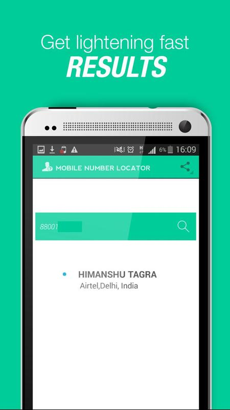 mobile number search