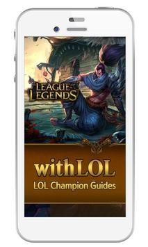 LOL Champion Guides withLOL poster