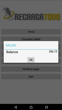 RecargaTodo 2.0 apk screenshot