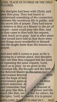 Lord, Teach Us To Pray apk screenshot
