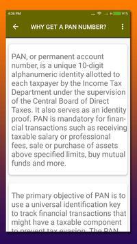 PAN Card apk screenshot
