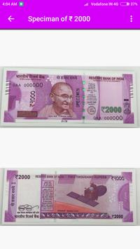 New Notes Of Rs.500 & Rs.2000. poster