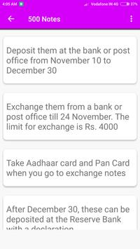 New Notes Of Rs.500 & Rs.2000. apk screenshot