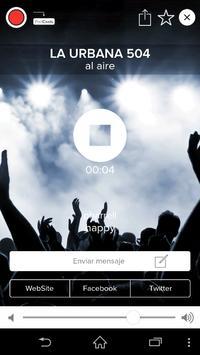 Radio La Urbana 504 apk screenshot