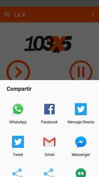 La X 103.5 apk screenshot