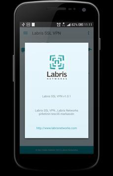 Labris SSL VPN apk screenshot