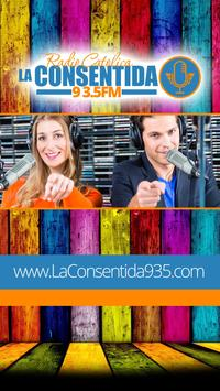 Radio La Consentida 93.5 poster