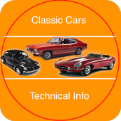 Classic Cars Technical Info icon