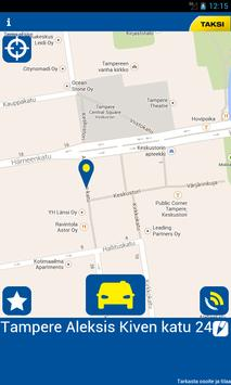 Taksi Tampere poster