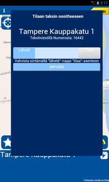 Taksi Tampere apk screenshot